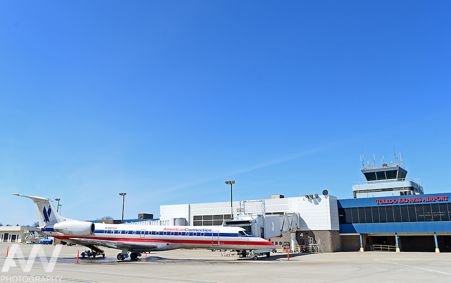 American Eagle at Toledo Express Airport.