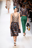 SEPT FENDI show at Milan Fashion Week