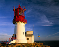 Norwegen, Vest Agder, Lindesnes Leuchtturm, suedlichster Punkt Norwegens | Norway, Vest Agder, Lindesnes Lighthouse, southernmost point