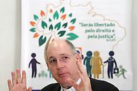 CAMPINAS, SP 06.03.2019-RELIGI&Atilde;O- Teve in&iacute;cio em todo o Brasil nesta quarta-feira (06) a Campanha da Fraternidade, que este ano tem como tema &ldquo;Fraternidade e Pol&iacute;ticas P&uacute;blicas&rdquo; e o lema &ldquo;Ser&aacute;s libertado pelo direito e pela justi&ccedil;a&rdquo; (Is 1,27).<br /> Dando in&iacute;cio a esse per&iacute;odo de prepara&ccedil;&atilde;o para a P&aacute;scoa, a equipe da CF da Arquidiocese de Campinas recebeu a imprensa para uma entrevista coletiva no Centro de Pastoral Pio XII. Estavam presentes Mons. Jos&eacute; Eduardo Meschiatti, Administrador Diocesano de Campinas, Pe. Marcel Gustavo Alvarenga, Coordenador da Equipe da Campanha da Fraternidade. (Foto: Denny Cesare/Codigo19)