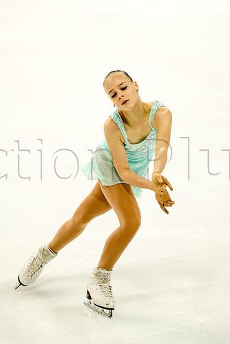 08.12.2016. Palais Omnisports, Marseille, France. ISU Junior Figure Skating Grand Prix Final. Anastasiia Gubanova (RUS), competes in the Women's Short Program.