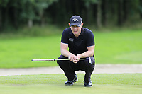 Scott Henry (SCO) on the 16th green during Sunday's Final Round of the Northern Ireland Open 2018 presented by Modest Golf held at Galgorm Castle Golf Club, Ballymena, Northern Ireland. 19th August 2018.<br /> Picture: Eoin Clarke | Golffile<br /> <br /> <br /> All photos usage must carry mandatory copyright credit (&copy; Golffile | Eoin Clarke)