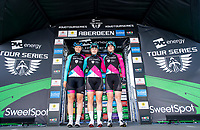 Picture by Allan McKenzie/SWpix.com - 17/05/2018 - Cycling - OVO Energy Tour Series Womens Race - Round 2:Aberdeen - Team OnForm sign on.