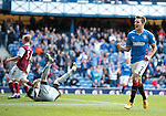 Andy Little celebrates after scoring
