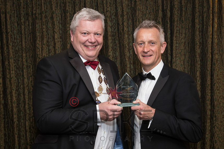 Pictured with Michael Auty QC, President of the Nottinghamshire Law Society is Richard Seabrook - Barrister of the Year