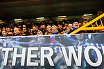 Stockport fans inThe Cheadle End. Stockport County v Barnet, 07032020. Edgeley Park, National League. Photo by Paul Thompson.