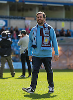 Brian Quinn during The Impractical Jokers (Hit US TV Comedy) filming at Wycombe Wanderers FC at Adams Park, High Wycombe, England on 5 April 2016. Photo by Andy Rowland.