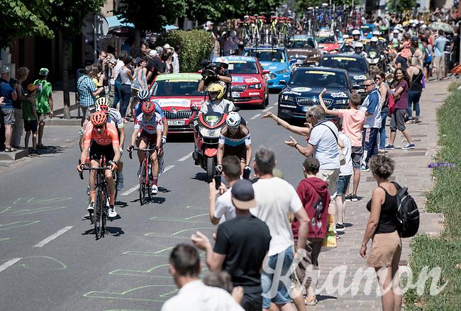 breakaway group through Rodez<br /> <br /> Stage 10: Saint-Flour to Albi(217km)<br /> 106th Tour de France 2019 (2.UWT)<br /> <br /> ©kramon