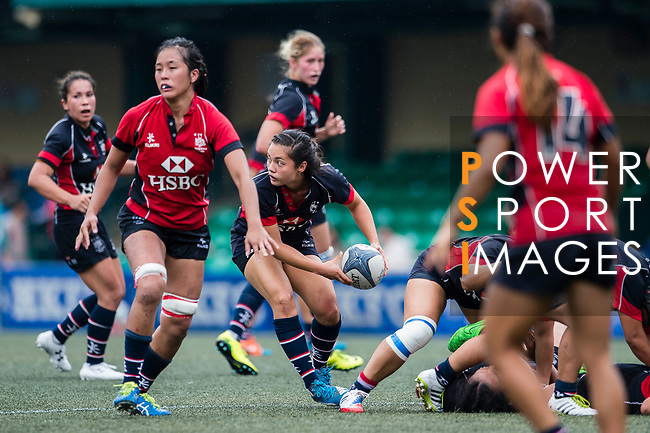 Jessica Ho of Dragons (C) in action during the Women's National Super Series 2017 on 13 May 2017, in Hong Kong Football Club, Hong Kong, China. Photo by Marcio Rodrigo Machado / Power Sport Images