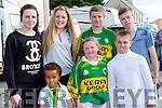 Enjoying the Gneeveguilla Carnival on Sunday were Ethan Abu, Shannon O'Sullivan, Darragh O'sullivan. Back row: Ciara Murphy, kelly Murphy, Liam Riordan and Sean Sheehan