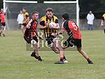 St Kevins Dylan Maher and Sean Callan Na Piarsaigh Gerrard Smyth. Photo:Colin Bell/pressphotos.ie