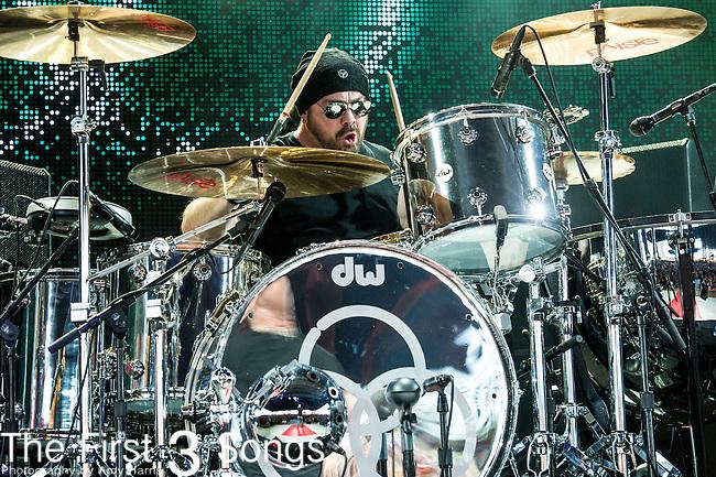 Jason Bonham of Jason Bonham's Led Zeppelin Experience performs at Riverbend Music Center in Cincinnati, Ohio.