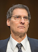 Stephen H. Legomsky, John S. Lehmann University Professor<br /> School of Law at Washington University, St. Louis, Missouri, testifies during the United States Senate Committee on the Judiciary hearing on the confirmation of Loretta Lynch, United States Attorney For The Eastern District Of New York, U.S. Department of Justice, Brooklyn, NY as U.S. Attorney General on Capitol Hill in Washington, D.C. on Thursday, January 29, 2015.  <br /> Credit: Ron Sachs / CNP