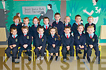 Ballyduff Central National School : Junior infants attending Ballyduff Central national School. Front : Shay Murphy, Caoimhe Carroll, Reece O'Connor, Sophia Burns, RickyO'Brien, Sienna Trainer & luke Rochford...Back: Tadhg O'Connor, Eamon O'Connor, Fia Browne, Aaron O'Connell, Christophrt Ross, Kiera Kirby, Gavin Ross-O'Gorman & Jessica O'Sullivan.