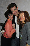 As The World Turns Colleen Zenk, Trent Dawson, Anne Sayre attend My Big Gay Italian Wedding on March 18, 2011 (also 3-17- & 3-20) at St. Luke's Theatre, New York City, New York. (Photo by Sue Coflin/Max Photos)