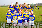 Allianz Cumann na mBunscol Finals at the John Mitchels GAA ground on Friday Pictured Kilmurry NS - Aisling Carney, Ava Fitzmaurice, Aoife Kerins, Bride Moriarty, Aoife Flynn, back Grainne O'Connor, Laura Fitzmaurice, Roisin Brosnan, Kaylynn O'Connor, Jay Lawlor