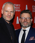 Playwright Martin McDonagh and director Matthew Dunster attends the 'Hangmen' Opening Night After Party at the The Gallery at the Dream Downtown on February 5, 2018 in New York City.