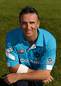ICC T20 World Cup - Scotland cricketers - team Captain Gavin Hamilton (East Brierly CC) photographed in the national teams' newly designed kit - Picture by Donald MacLeod - 29 May 2009