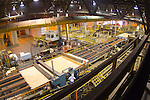 OSB manufacturing line