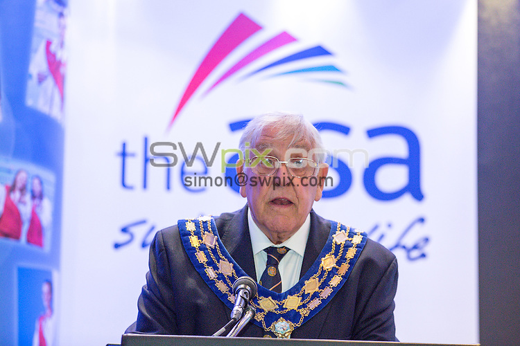 Picture by Alex Whitehead/SWpix.com - 18/10/2014 - Swimming - The ASA Annual Council Meeting and Dinner - Hilton Metropole Hotel, Birmingham, England - Raymond Hedger.