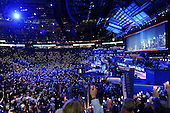 Boston, Mass..USA.JUly 26, 2004..The opening night of the Democratic National Convention in Boston. .