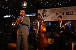 performs at the New York Hot Jazz Festival own September 30, 2018 at The McKittrick Hotel in New York City.
