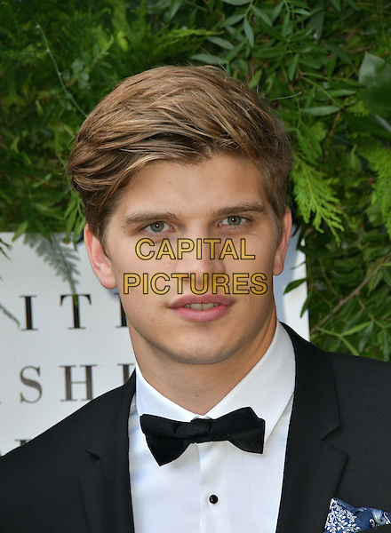 Toby Huntington-Whiteley at Charity ball in aid of One For The Boys, a charity raising awareness of male forms of cancer, encouraging men to get checked regularly. Evening celebrates the launch of the 2016 campaign film The Difference, at Victoria and Albert Museum, London, England June 12, 2016.<br /> CAP/JOR<br /> &copy;JOR/Capital Pictures