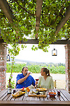 Brick House Vineyard and winery near Newberg, Oregon produces a variety of organic wines. Owners Christine and Doug Tunnell