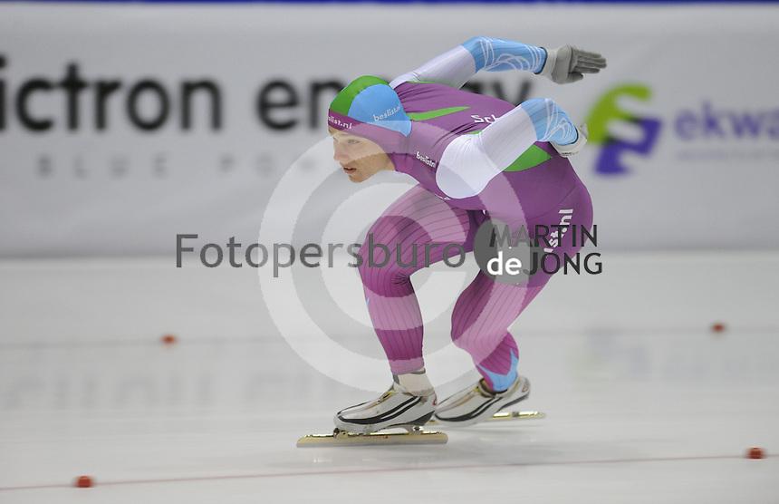 SCHAATSEN: HEERENVEEN: IJsstadion Thialf 05-02-2016, Topsporttraining en wedstrijd, Pim Schipper, ©foto Martin de Jong