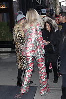 NEW YORK, NY - JANUARY 26: Rita Ora seen on January 26, 2018 in New York City. Credit: DC/MediaPunch