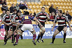 Luke Mealamu makes a run with plenty of support during the Air NZ Cup game between the Counties Manukau Steelers and Southland played at Mt Smart Stadium on 3rd September 2006. Counties Manukau won 29 - 8.