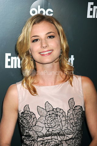 Emily VanCamp attends the Entertainment Weekly & ABC-TV Up Front VIP Party at Dream Downtown on May 15, 2012 in New York City. Credit: Dennis Van Tine/MediaPunch