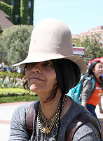 LOS ANGELES, CA -APRIL 14: Linda Perry, at 2019 Los Angeles Times Festival Of Books Day 2 at University of Southern California in Los Angeles, California on April 14, 2019.<br /> CAP/MPI/FS<br /> ©FS/MPI/Capital Pictures