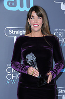 11 January 2018 - Santa Monica, California - Patty Jenkins. 23rd Annual Critics' Choice Awards held at Barker Hangar. <br /> CAP/ADM/BT<br /> &copy;BT/ADM/Capital Pictures