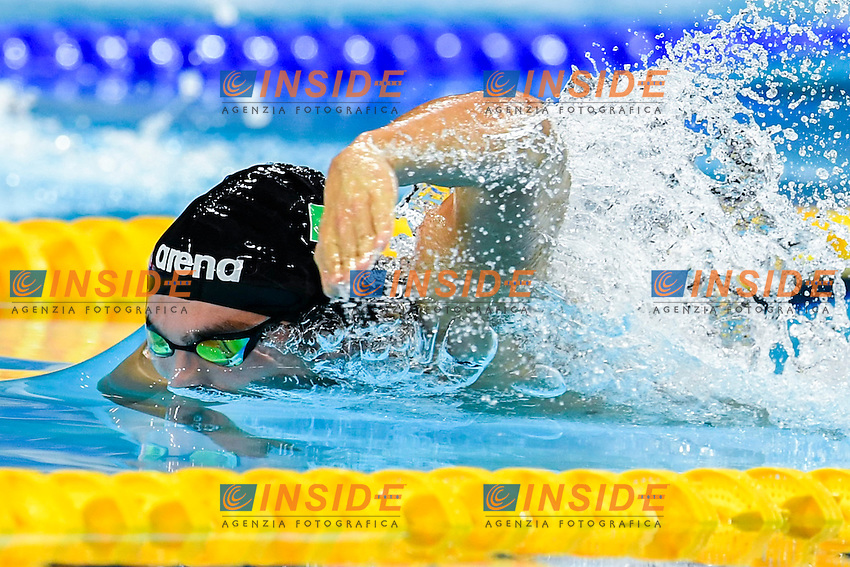 DETTI Gabriele<br /> Men 400m Freestyle<br /> 13th Fina World Swimming Championships 25m <br /> Windsor  Dec. 6th, 2016 - Day01<br /> WFCU Centre - Windsor Ontario Canada CAN <br /> 20161206 WFCU Centre - Windsor Ontario Canada CAN <br /> Photo &copy; Giorgio Scala/Deepbluemedia/Insidefoto