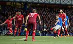 23.08.2018 Rangers v Ufa: Scott Arfield has a shot