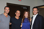 "Eric Martsolf, Christian LeBlanc, Melissa Archer came to see Guiding Light Tom Pelphrey at Southwest Florida SoapFest's Celebrity Weekend doing A Night at the Theatre performing ""My Italy Story"" benefitting the Apothecary Theatre Company at the Rose History Auditorium on November 11, 2012 in Marco Island, Florida. (Photo by Sue Coflin/Max Photos)"