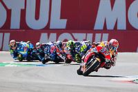 MARC MARQUEZ - SPANISH - REPSOL HONDA TEAM - HONDA<br /> VALENTINO ROSSI - ITALIAN - MOVISTAR YAMAHA MotoGP - YAMAHA<br /> ANDREA DOVIZIOSO - ITALIAN - DUCATI TEAM - DUCATI<br /> MAVERICK VINALES - SPANISH - MOVISTAR YAMAHA MotoGP - YAMAHA<br /> ALEX RINS - SPANISH - TEAM SUZUKI ECSTAR - SUZUKI<br /> Assen 1-07-2018 <br /> Moto Gp Olanda<br /> Foto Vincent Guignet / Panoramic / Insidefoto