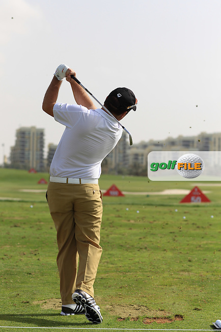 Damien McGrane (IRL) swing sequence during the Abu Dhabi HSBC Championship, in the Abu Dhabi Golf club..(Photo Eoin Clarke/www.golffile.ie)