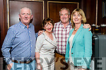 Dermot Moore, Mary Fitzgerald, Frank O'Donnell and Catherine Moore at the John Mitchels GAA 'Strictly Come Dancing' at Ballygarry House Hotel on Sunday night.