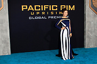 "LOS ANGELES - FEB 21:  Lily Ji at the ""Pacific Rim Uprising"" Premiere at the TCL Chinese Theater IMAX on February 21, 2018 in Los Angeles, CA"