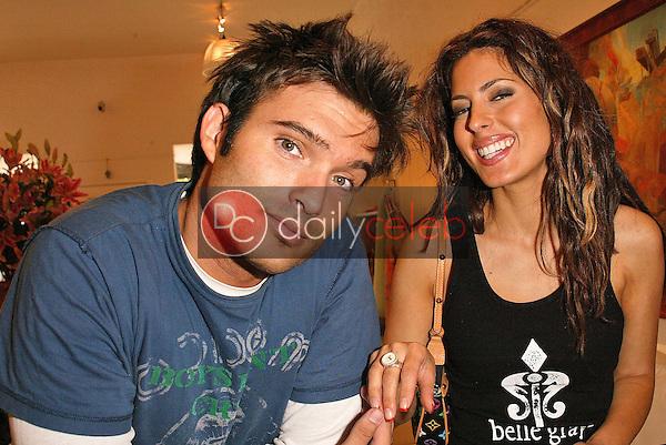 Diego Varas and Kerri Kasem