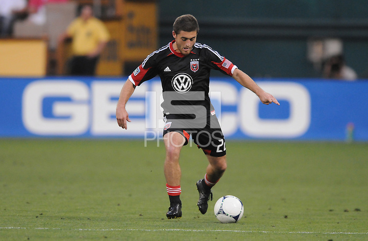 D.C. United defender Chris Korb (22) D.C. United defeated the Colorado Rapids 2-0 at RFK Stadium, Wednesday May 16, 2012.