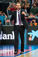 Baskonia's player Sito Alonso during the match of the semifinals of Supercopa of La Liga Endesa Madrid. September 23, Spain. 2016. (ALTERPHOTOS/BorjaB.Hojas)