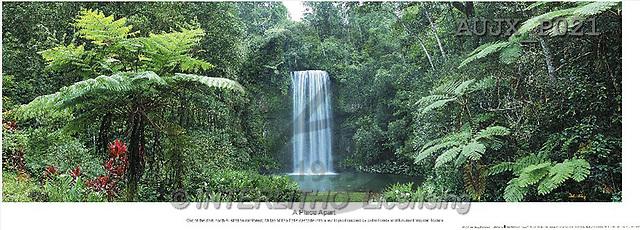 Dr. Xiong, LANDSCAPES, panoramic, photos, Waterfall, A place apart, Australia(AUJXP021,#L#)