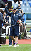 17th March 2018, Stadio Olimpico, Rome, Italy; NatWest Six Nations rugby, Italy versus Scotland; coach Gregor Townsend of Scotland during the warm up before the match