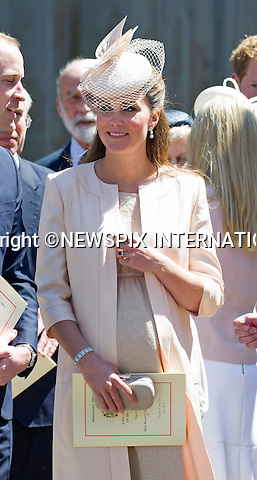 KATE EXPECTING 2ND CHILD<br /> Kensington Palace has confirmined that the Duke and Duchess of Cambridge are expecting their second child.<br /> <br /> PRINCE WILLIAM AND KATE MIDDLETON<br /> joined other members of the Royal Family for  A Service to Celebrate the Queen's 60th Anniversary of the Coronation Service at Westminster Abbey, London_04/06/2013<br /> Members of the Royal Family attending the Service included The Prince of Wales and The Duchess of Cornwall, The Duke and Duchess of Cambridge, Prince Henry of Wales, The Duke of York and Princesses Beatrice and Eugenie, The Earl and Countess of Wessex and The Lady Louise Mountbatten-Windsor, The Princess Royal, Vice Admiral Sir Tim Laurence, Peter Phillips and Autumn (Kelly) Phillips, Zara (Phillips) Tindall and Mike Tindall, The Duke and Duchess of Gloucester, The Duke and Duchess of Kent, Prince and Princess Michael of Kent<br /> Mandatory Credit Photo: &copy;Francis Dias/NEWSPIX INTERNATIONAL<br /> <br /> **ALL FEES PAYABLE TO: &quot;NEWSPIX INTERNATIONAL&quot;**<br /> <br /> IMMEDIATE CONFIRMATION OF USAGE REQUIRED:<br /> Newspix International, 31 Chinnery Hill, Bishop's Stortford, ENGLAND CM23 3PS<br /> Tel:+441279 324672  ; Fax: +441279656877<br /> Mobile:  07775681153<br /> e-mail: info@newspixinternational.co.uk