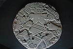STONE CARVED AZTEC GOD ART