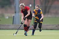 Upminster HC Ladies 3rd XI vs Havering HC 2nd XI, Essex Women's League Field Hockey at the Coopers Company and Coborn School on 10th March 2018