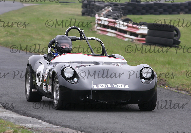 Barry Taylor driving a Fisher Fury in the Machars Car Club organised Kames Sprint, a round of the 2013 Guyson Scottish Sprint, 2013 Guyson Scottish Speed, 2013 MJ Engineering Speed and the 2013 Service Hydraulics Speed Championships held at the Kames Motorsport Complex, Muirkirk on 19.5.13.